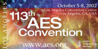 AES 113th Convention
